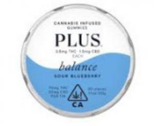 Indica Strain Blueberry at Legal Cannabis Dispensary, Sunland,California